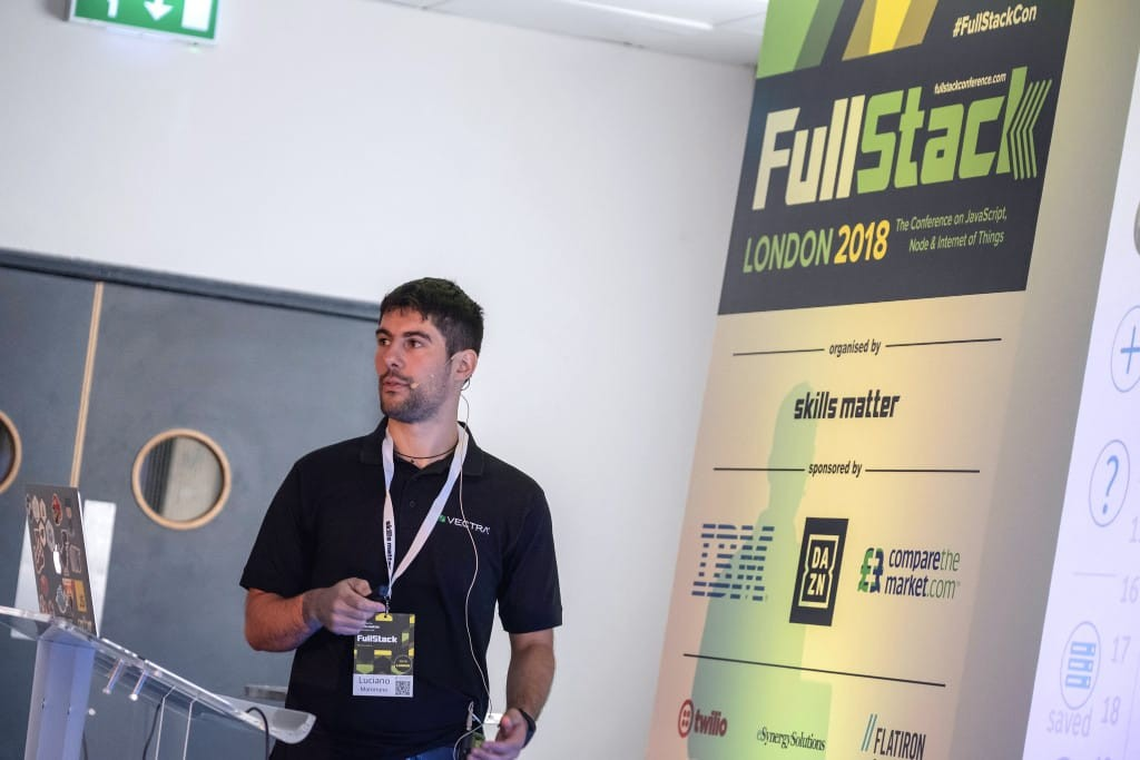 Luciano Mammino at FullStack London